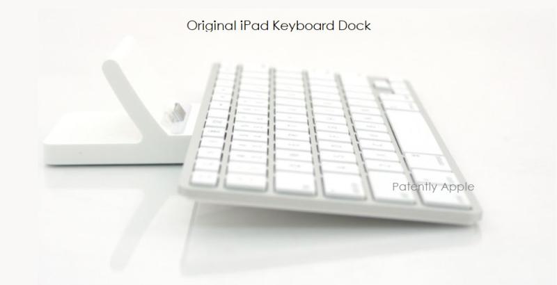 6 - Apple iPad keyboard dock