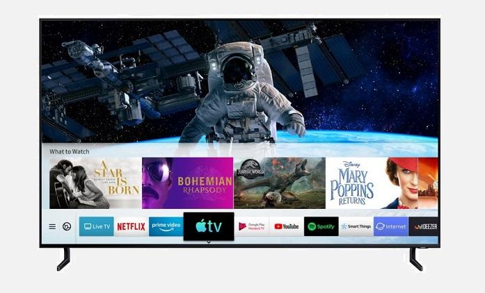 1 X COVER  samsung Apple TV App