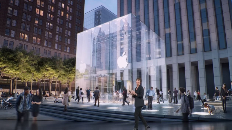 4 Apple Store NY Reopening