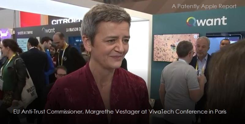 2 X EU Commissioner  Vestager