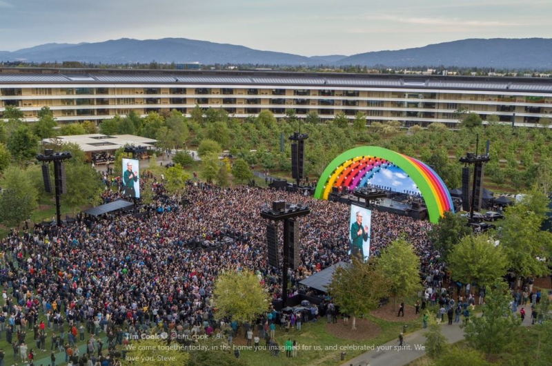2 x May 17  2019 Apple Park concert