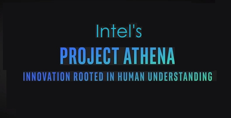 1 x cover Athena intel notebook project