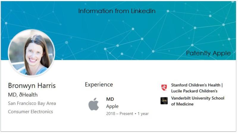 3 x LinkedIn info on Bronwyn Harris