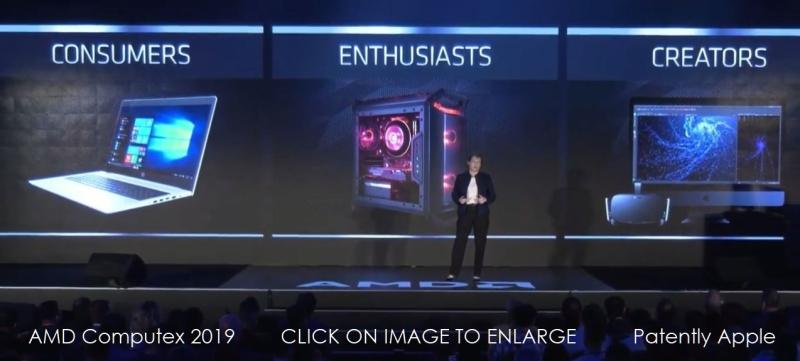 5 X AMD CREATORS  SHOWS APPLE IMACS