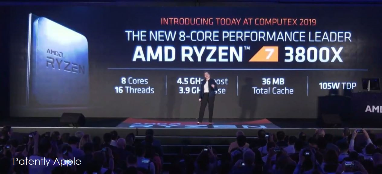 AMD Introduced 7nm CPUs and GPUs at Computex 2019 with the GPU