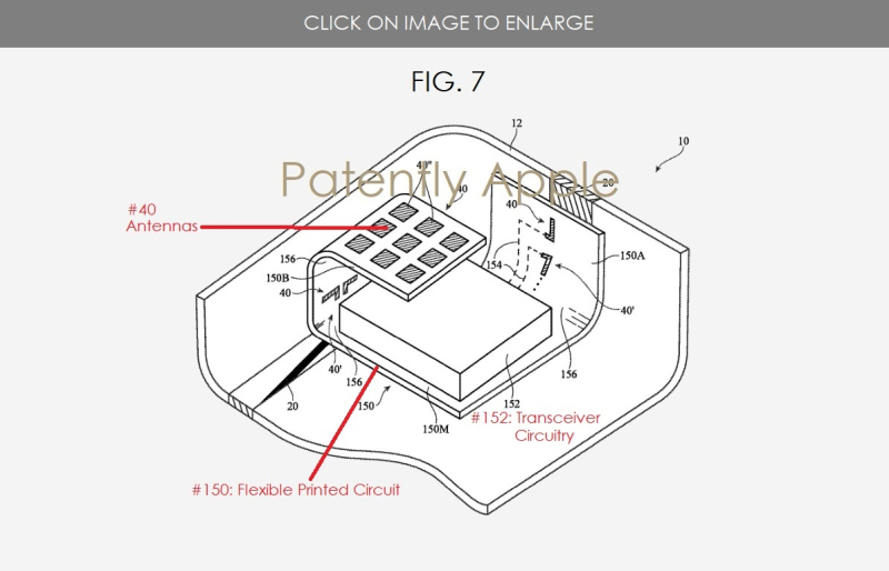 4 x millimeter wave 5g related patent