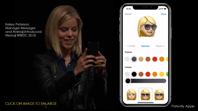 1 Cover Memoji introduced June 4  2018 WWDC 2018