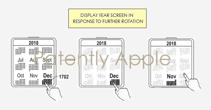 1 Covr Apple Watch year view calendar UI - Patently Apple IP Report