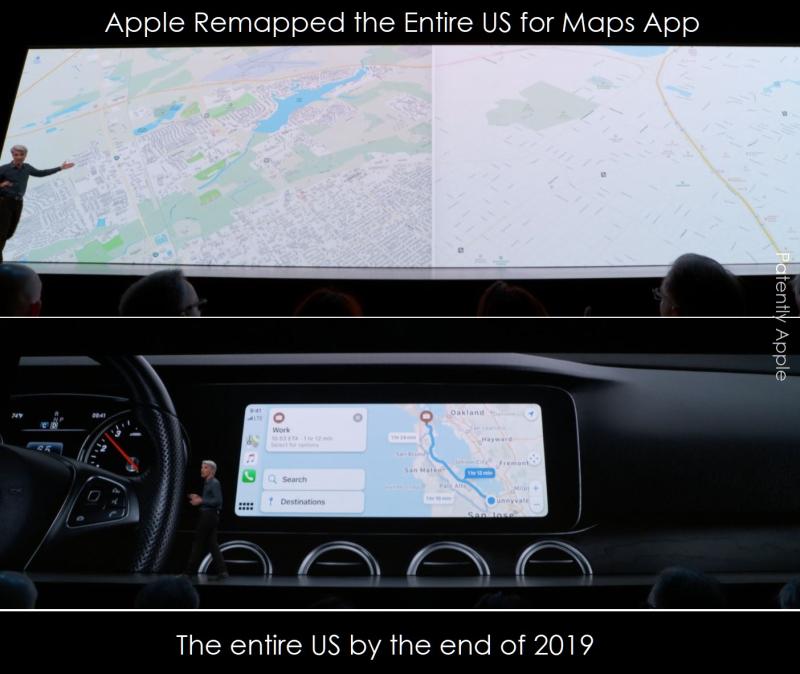 2 X new apple maps WWDC 2019