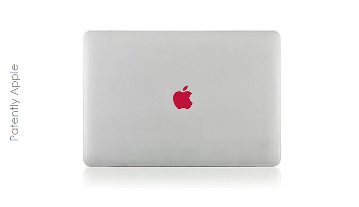 1 x cover apple logo decorative adjustment feature