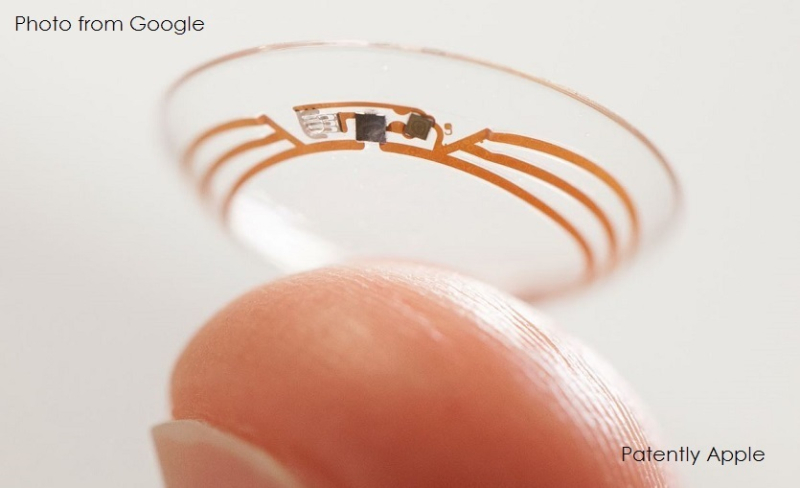 2 GOOGLE BLOOD GLUCOSE AND CONTACT LENSES