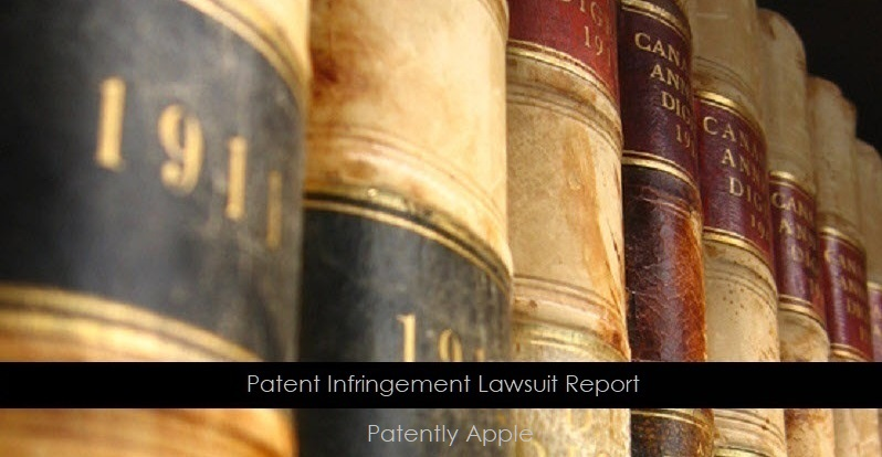 1 X C - Patent Infringement - Patently Apple - Patently Legal report - Copy