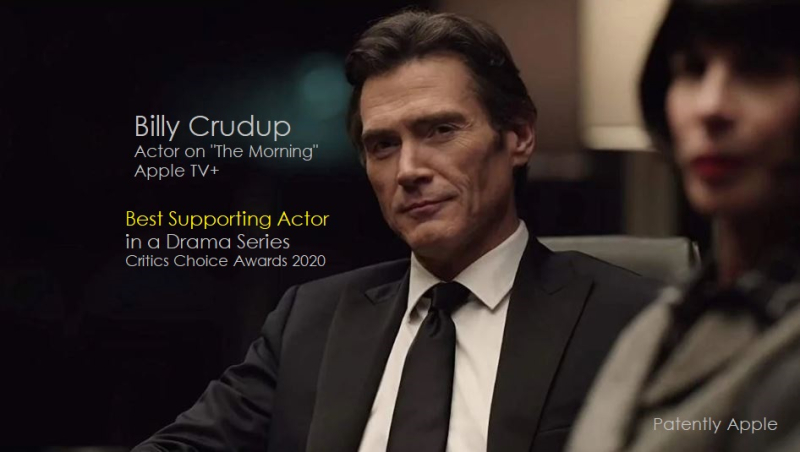 1 X Cover Billy Crudup wins best supporting actor in a drama series critics choice awards 2020