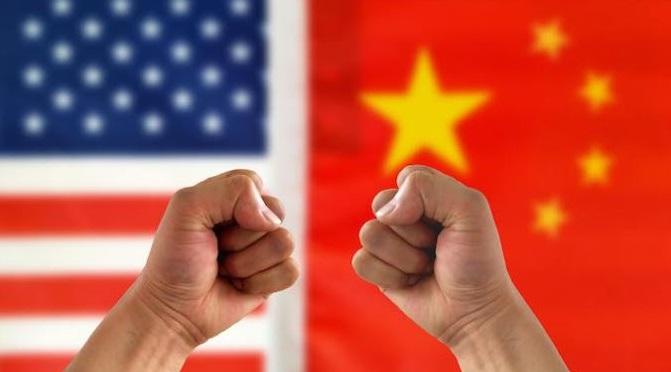 1 x US-China trade war
