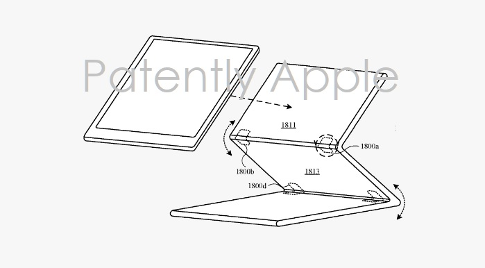 1 X Cover Granted patents for new hinge system for Smart Keyboard Folio and MacBook - Patently Apple IP report June 18  2019