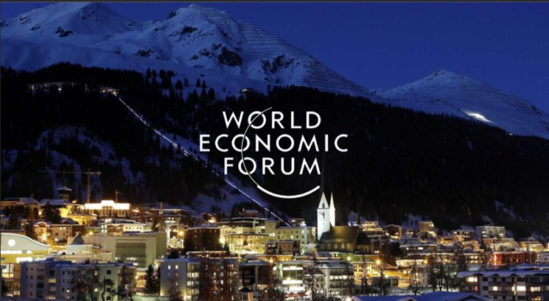 1 cover  50th anniversary of the world economic forum  davos jan 21-24