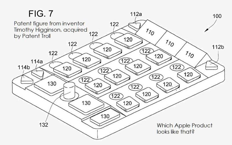 2 x-extra - a universal keyboard troll patent
