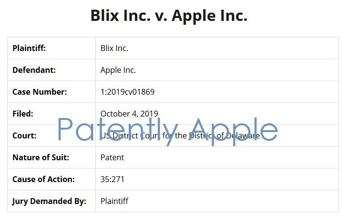 4 over blix vs Apple