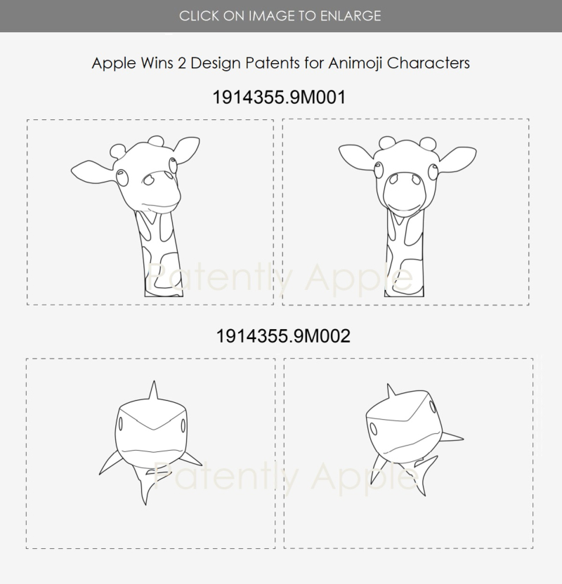 2 design patent figures from Hong Kong  Apple