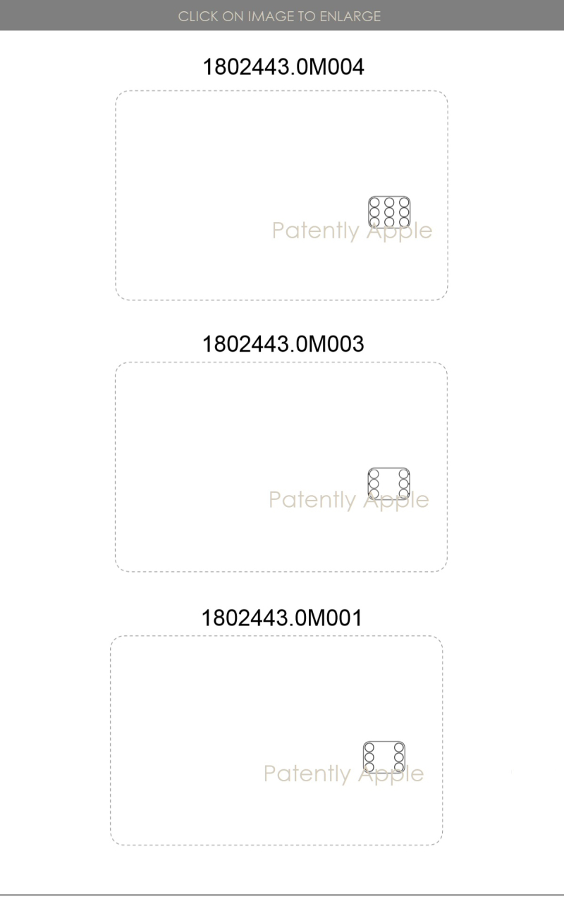 4 Apple Card design patents  024  025  023