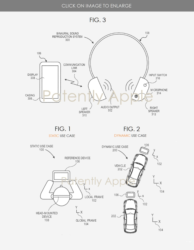 2 APPLE BINAURAL SOUND REPRODUCTION SYSTEM - Patently Apple IP Report June 24  2019