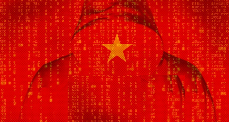 1 x Cover - China hackers