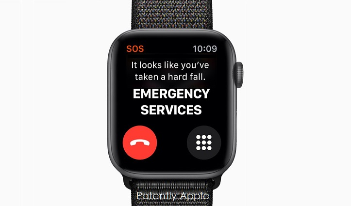 3X  Apple Watch fall detection