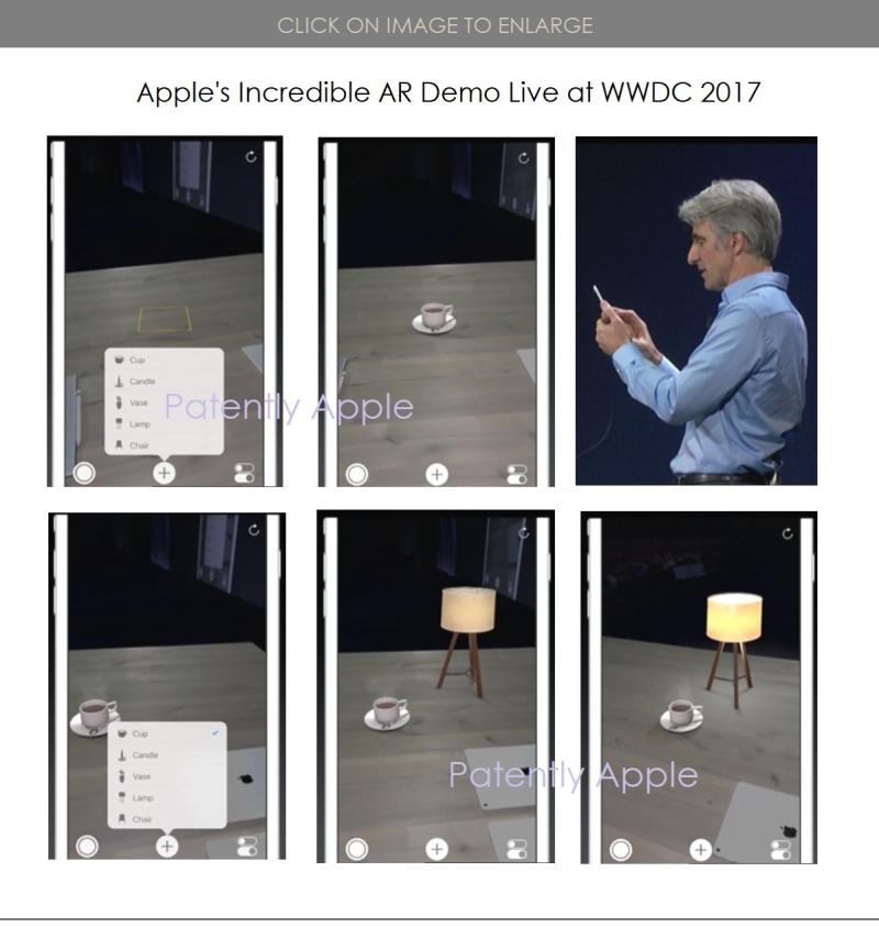 2 Craig Federighi introduces AR on the iPhone