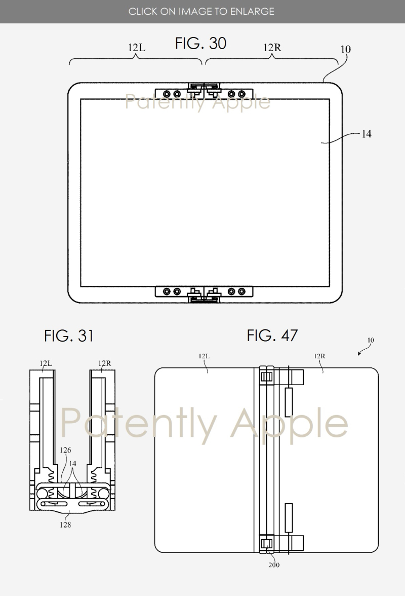 4 movable flap  hinge system foldable device
