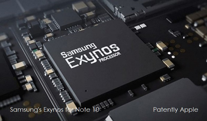 1 x Cover Samsung Exynos Processor for Note 10