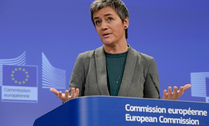 1 X margrethe vestager EU Antitrust commission