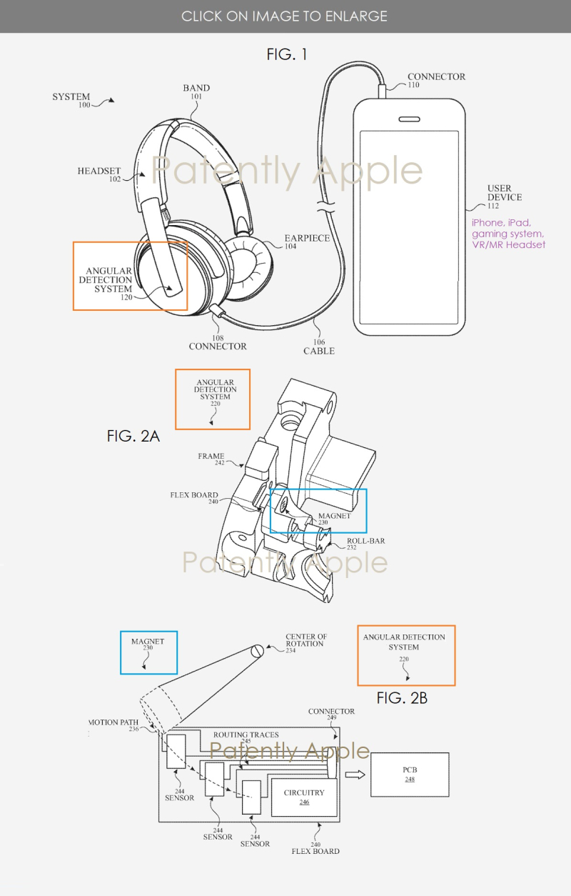 2 vr headset over-the-ear headphones - angular detection system