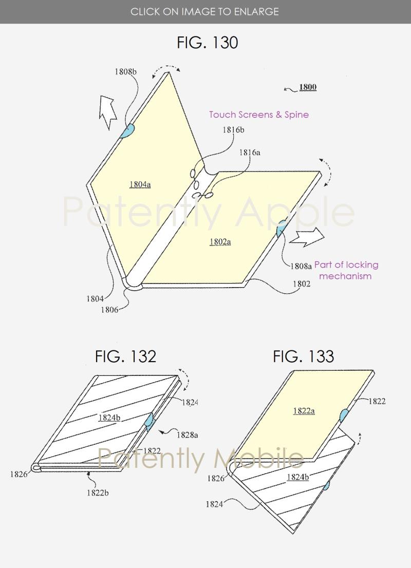 4 samsung patent figs 130  132 & 133