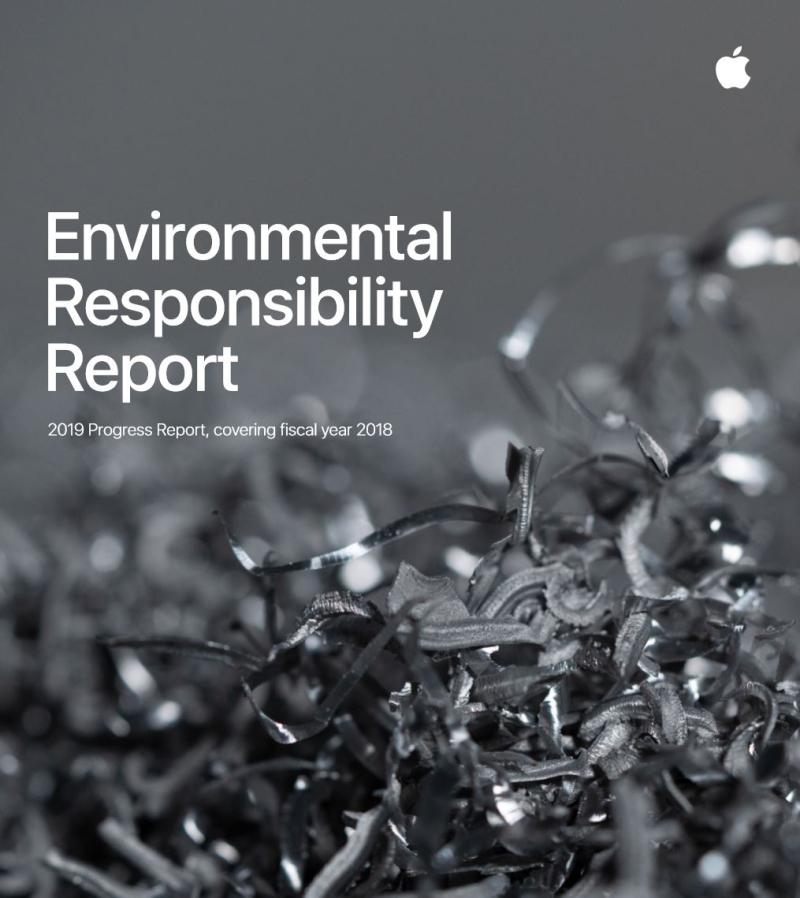 3 Apple Environmental Responsibility report