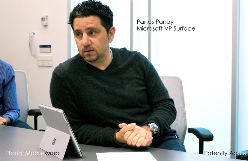 2 X Microsoft VP Surface  Panos Panay
