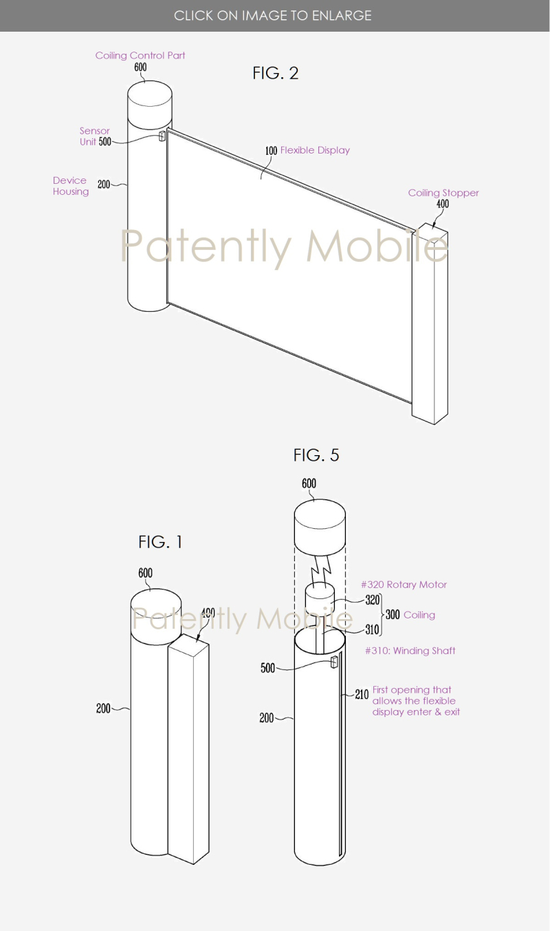 2 Samsung Scrollable device