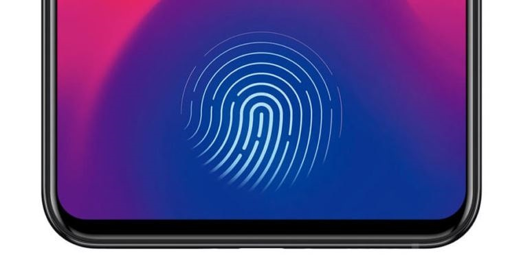 1 cover under screen fingerprint sensor