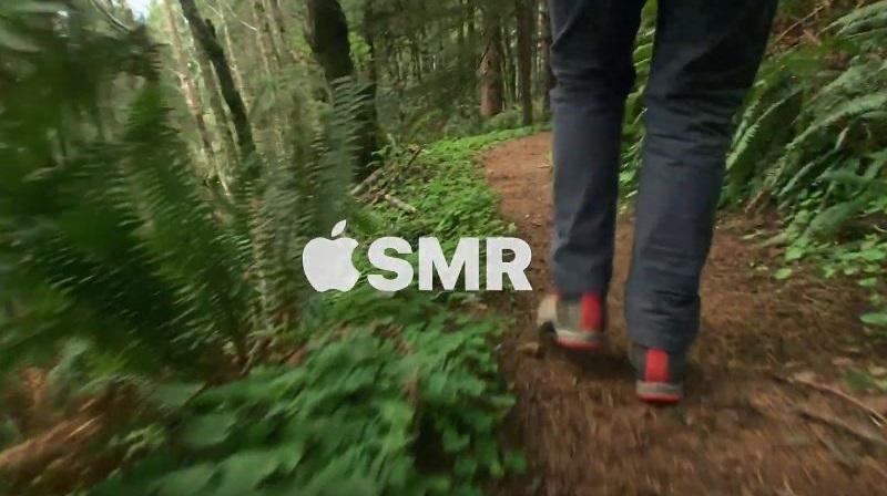 1 X cover Apple ASMR crunching noise