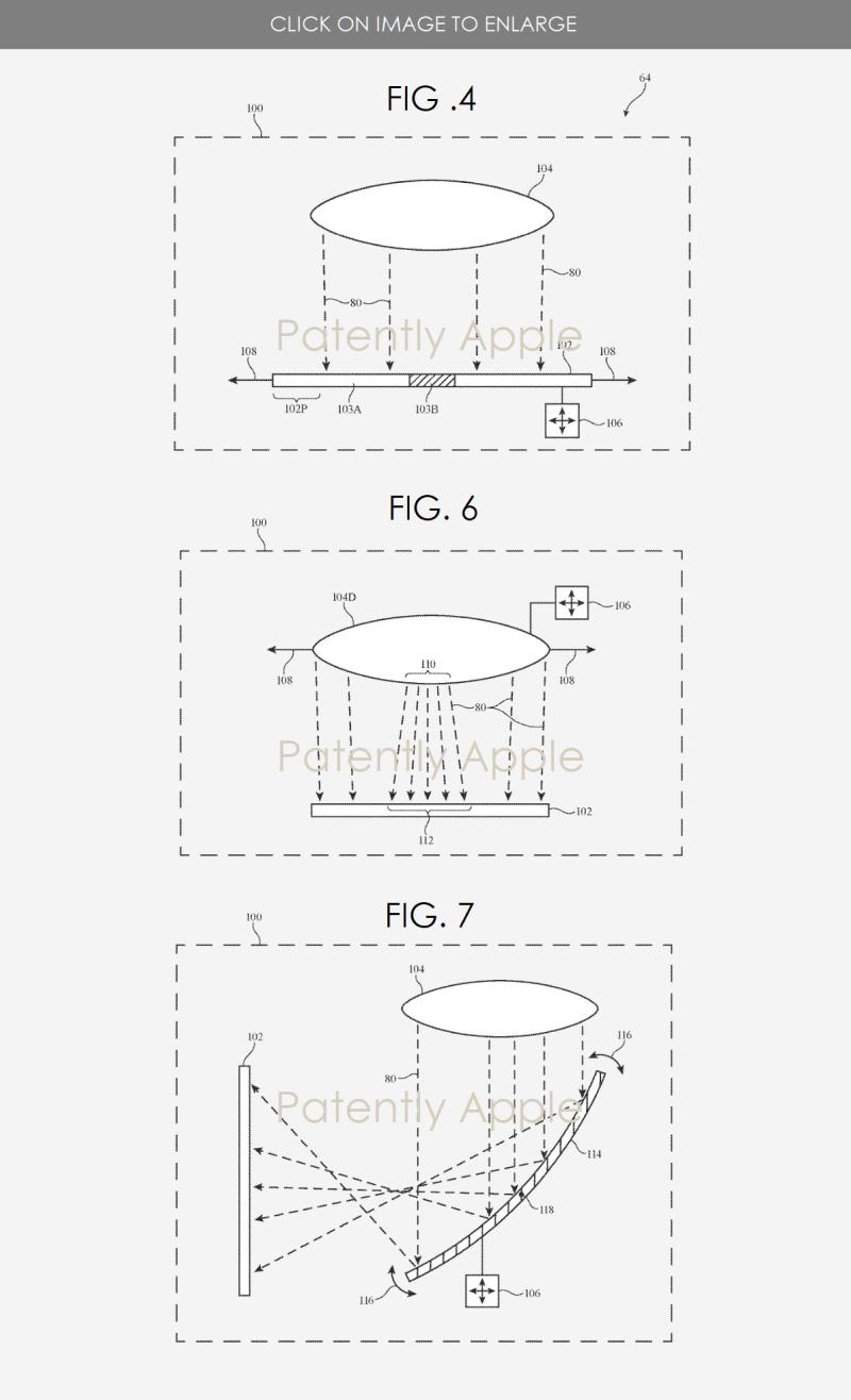 3 Apple headset patent figs. 4  6 & 7
