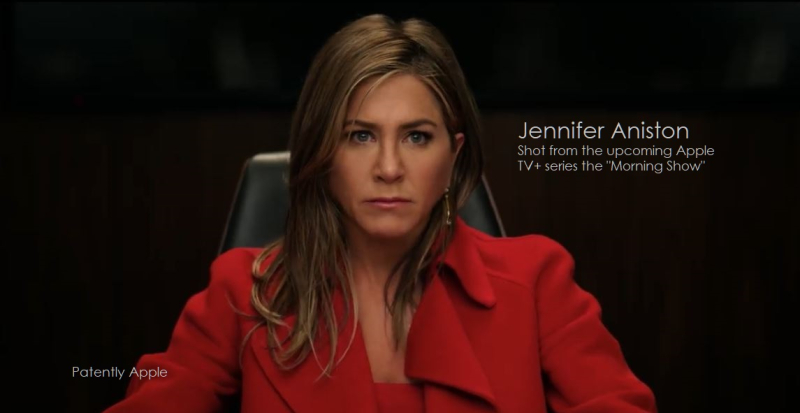 2 Jennifer Aniston from the Morning Show Apple TV+ series