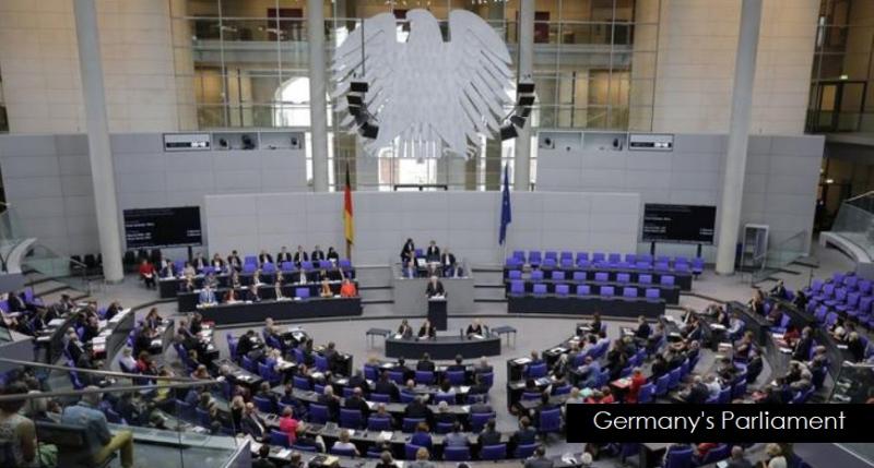 1 X Germany's Parliament
