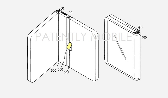 1 COVER SAMSUNG FOLDING SMARTPHONE PATENT REPORT