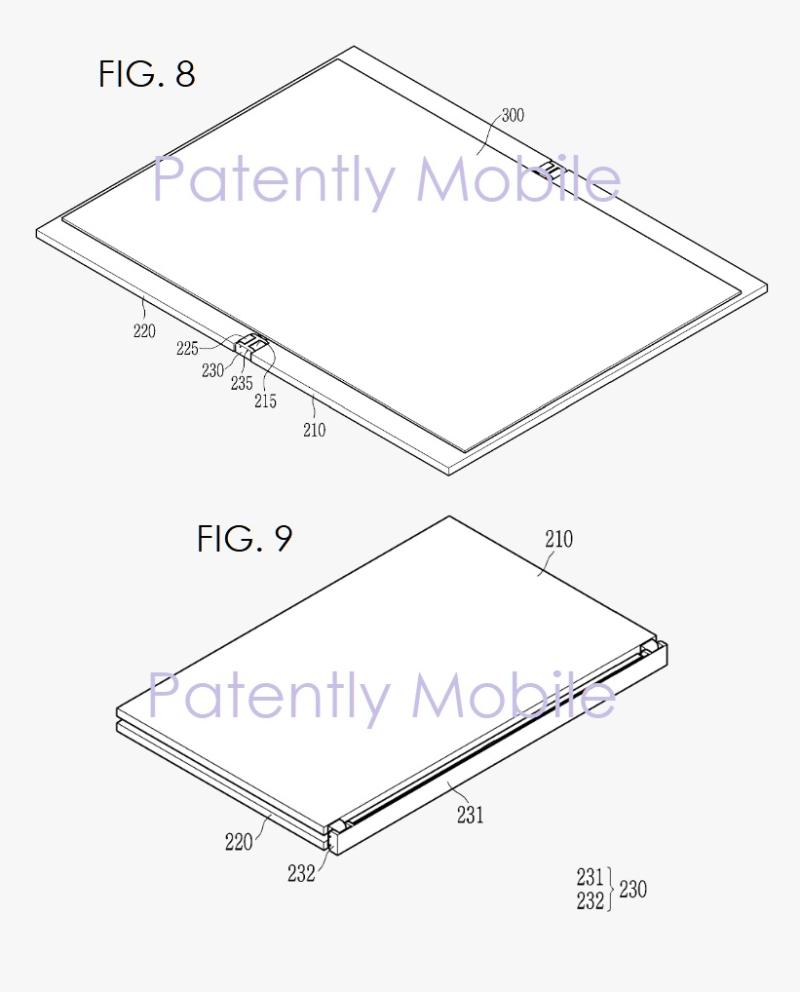 6 samsung folding device figs 8  9