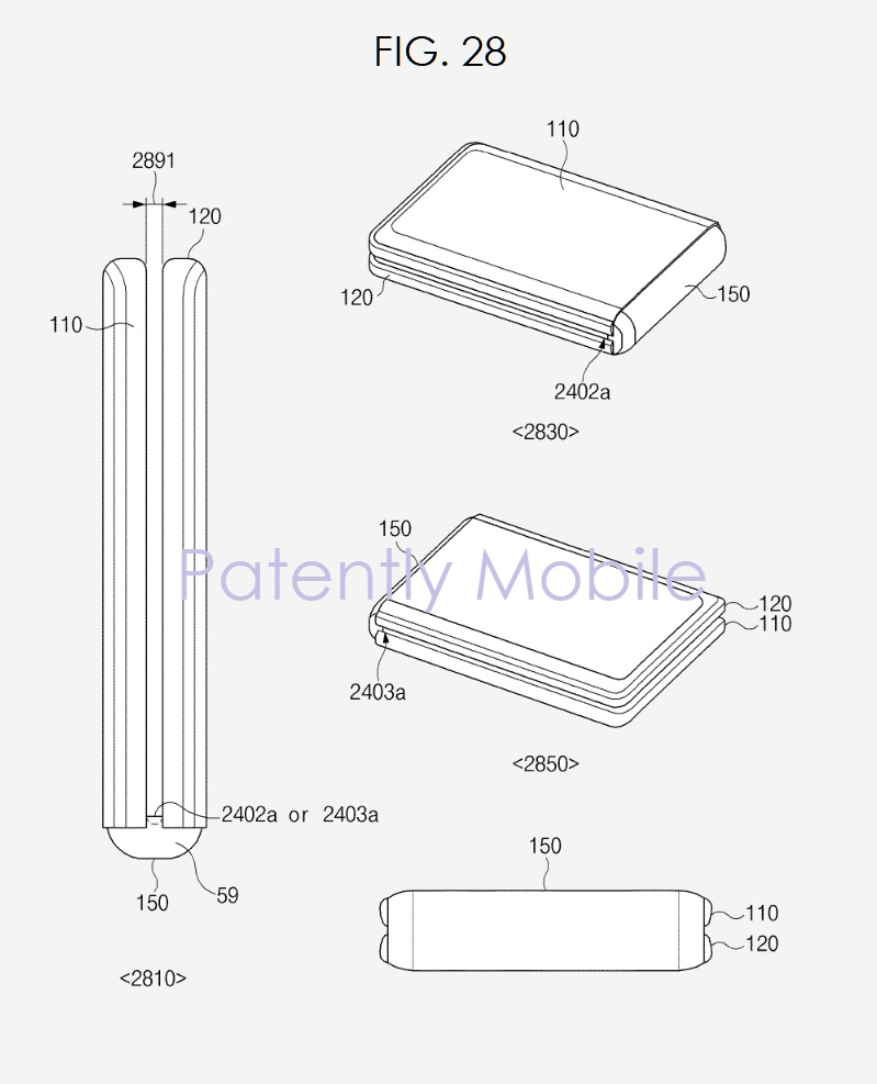 5 samsung foldable device
