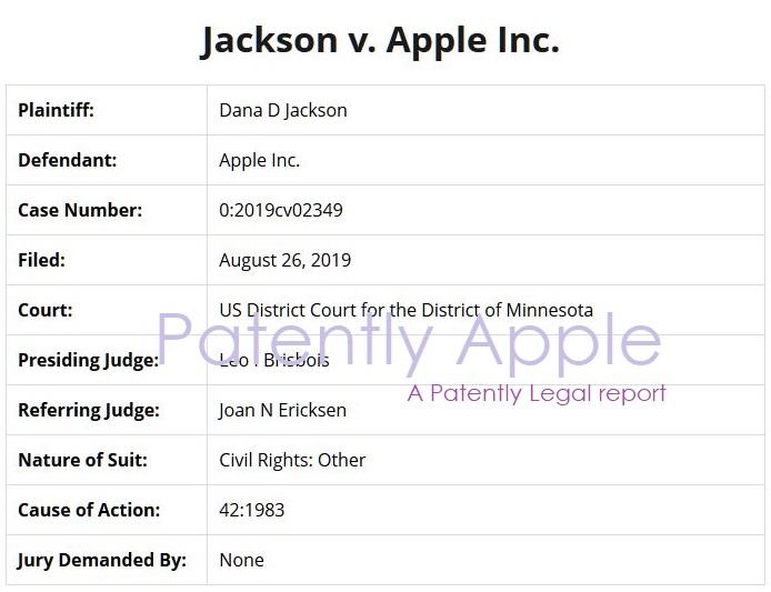 2x jackson v apple