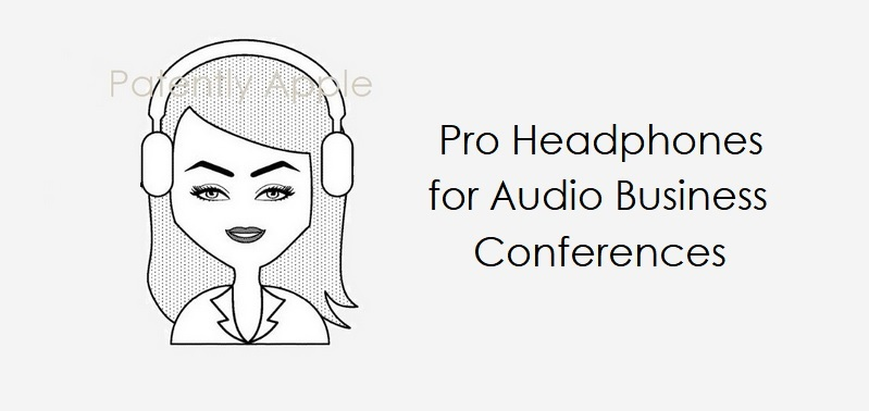 1 X cover Pro Headphones for Audio Business Conferences