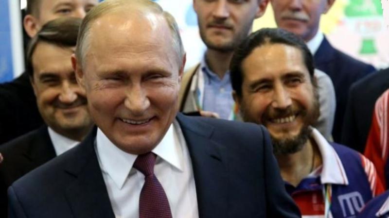 1 X - cover President Putin