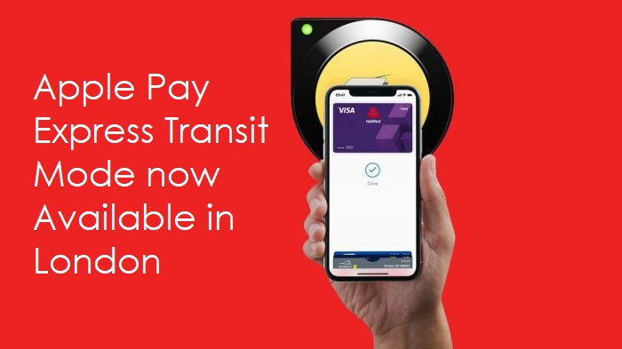 1 x cover apple pay express mode