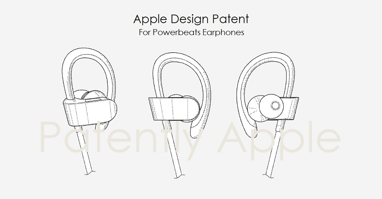 1 Cover Powerbeats Earphone design patent