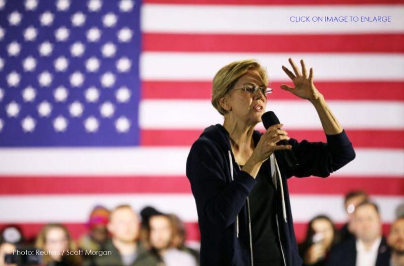 1 X cover Elizabeth Warren